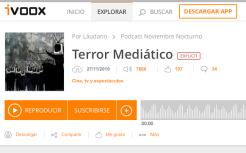 terror mediative network noviembre nocturno