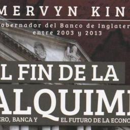 El fin de la alquimia – Dinero – m King 2016