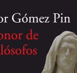 El honor de los filósofos – victor gomez pin
