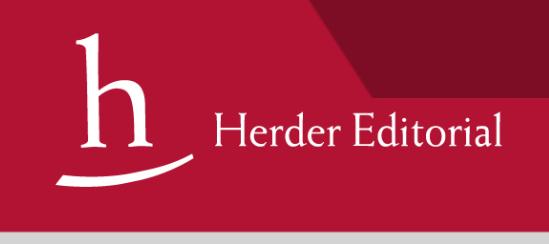 Editorial herder filosofia