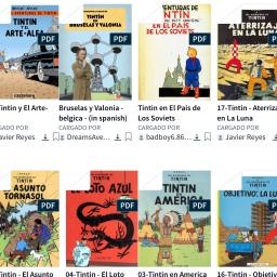 Tintin! Una deuda… pdfs