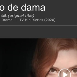 Serie tv Gambito de dama