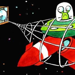 Basura espacial… a limpiar toca. Trabajo!!