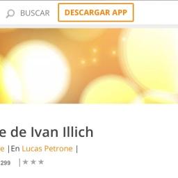 🎧 La muerte de ivan illich. L. Tolstoi.
