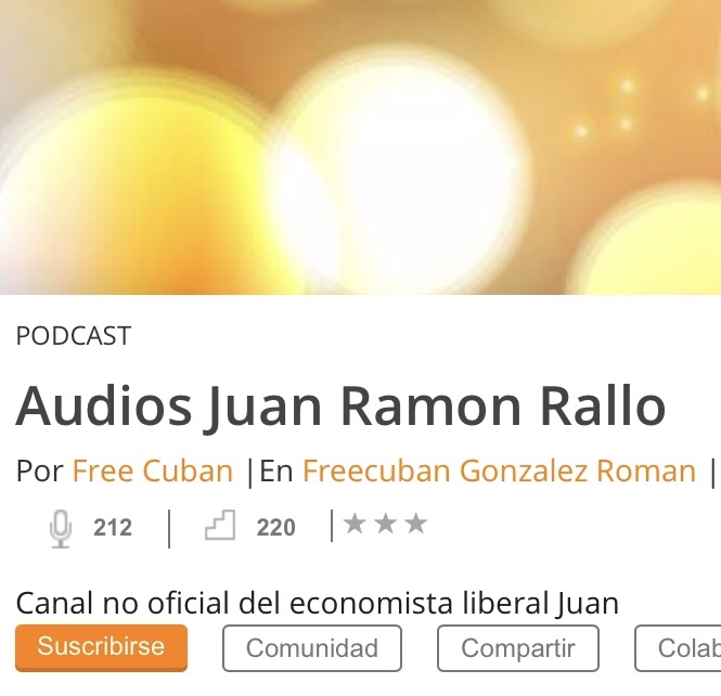 Podcast Juan Ramon Rallo
