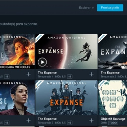 🔄 The expanse. CF serie