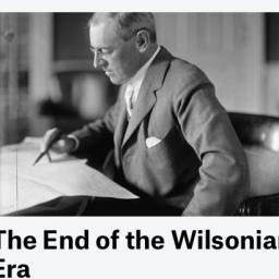 Pte. Wilson, FDR,.. Multilateralismo y política exterior USA