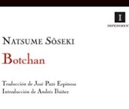 Natsumi Soseki, libro, botchan 1906.